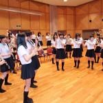 音楽科の授業風景